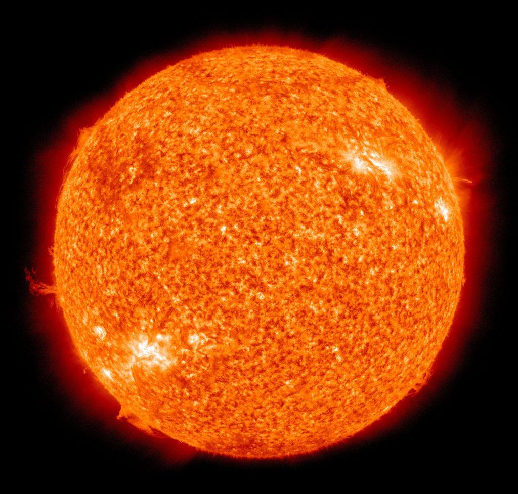 Heiße Sonne